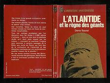"""Denis Saurat : L'Atlantide et le règne des géants """" L'Aventure mystérieuse  A187"""