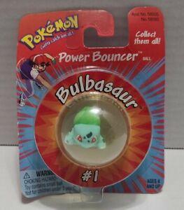 Vintage 1999 Hasbro Pokemon Power Bouncer  BULBASAUR #01   FACTORY SEALED