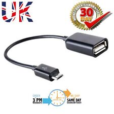 Micro USB Host Cable Male to Female OTG Adapter Samsung Nexus Galaxy S3 S4 S5
