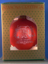 1992 CEDARTOWN,GEORGIA,GA.HISTORICAL MEMORIES OF CHRISTMAS ORNAMENT,LIBRARY