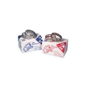 Genuine Jubilee Hose Clips / Clamp, Mild Steel (Zinc Plated) & Stainless Steel