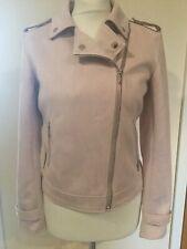 TU WOMAN Faux Suede Pink Biker Jacket Choose & Select Size BNWTS