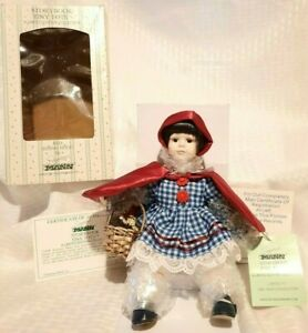 Seymour Mann Storybook Tiny Tots Porcelain Doll - Red Riding Hood
