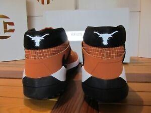 Nike KD 13 PE TEXAS LONGHORNS Orange Blk 6.5 Wmn8 DB8193 800 Hookem Horns Durant