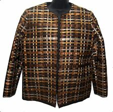 Beautiful Women's Jacket/ XL/ Thai Silk/ 100%