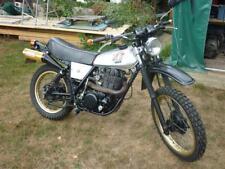 yamaha xt 500 motorrad Alutank Goldene Felgen Sebring Ochsenaugen Krümmer TüvNeu