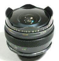 Fujifilm EBC Fujinon Fish Eye 16mm F/2.8 Lens M42 UK Fast post