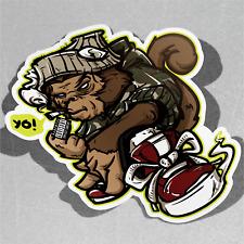 Hip Hop Monkey Graffiti Rude Smokin Vinyl Sticker Decal Window Car Van Bike 3109