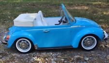 "36"" AMERICAN GIRL JULIE DOLL VW BUG CAR 1970s VOLKSWAGON BLUE BEETLE Convertible"