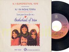 EUROVISION - BROTHERHOOD OF MAN RARE 45RPM ITALY - MINT