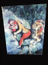 """Marc Chagall """"Cock"""" Russian French Jewish Art 35mm Slide"""