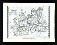 1831 Lewis Map England - Surrey - South London Kingston Croydon Guildford Kew