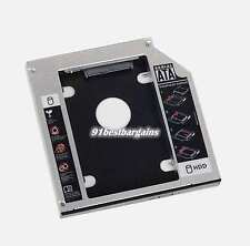 2nd 12.7mm Hard Drive HDD SATA Caddy for Acer TravelMate 5744 swap UJ8B0AW DVD
