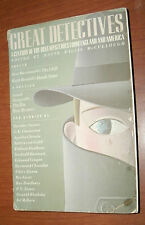 GREAT DETECTIVES ed by DAVID WILLIS McCULLOUGH 1984 PB