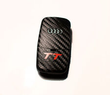 Audi TT 8N 8E  carbon fiber style key sticker with red TT logo