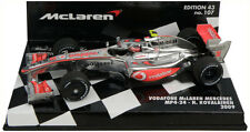 Minichamps McLaren Mercedes MP4-24 2009 - Heikki Kovalainen 1/43 Scale