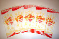 Pop Corn Bags 100 Pcs. 1 oz, ounce for Theater, Parties, Movies,