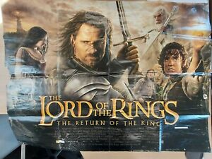 The Lord of the Rings-The Return of the King- Original 2003 Quad Poster-Used