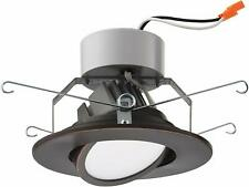 Lithonia Lighting 5 in. Recessed Gimbal LED Module 3000K Bronze