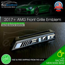 AMG Front Grille Emblem for Mercedes Benz Radiator Badge W205 C63S C43 E63 G OEM