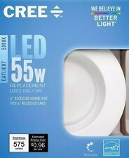 8-pack-Free Delivery Recessed Down Light Cree 4in TW Series 55W  Daylight LED