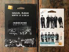 Indochine 2 Cartes Fnac Collector
