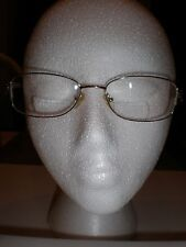 South Hampton Women Unique Eyeglasses Frames Gold Tone Filigree