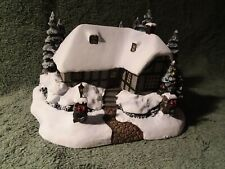 "Thomas Kinkade's Hawthorne Village ""Christmas Cottage"" copyright 2002"