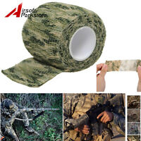 4.5M Outdoor Camouflage Wrap Rifle Gun Hunting Waterproof Camo Stealth Duct Tape