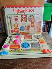 Vintage Fisher Price Activity Centre, With Box, Retro Item