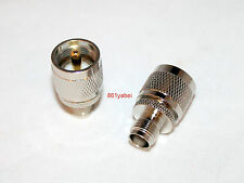 TNC Female plug to PL-259 (UHF) Male adapter connector ; US Stock; Fast Ship
