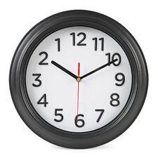 Orologio indietro invertire in senso orario anti ufficio Novità Divertente confusione Orologi Muro