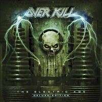 Overkill - Electric Age [Deluxe Edition CD] +4 trks Thrash Metal New & Sealed