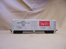 HO SCALE TYCO SWIFT REFRIGERATOR LINE SRLX 4226 BOX train CAR