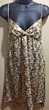 MIMI CHICA SZ S DRESS MULTI COLOR FLORAL EMPIRE WAIST  Baby Doll