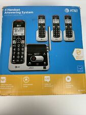 AT&T 4 Handset Cordless Telephone Answering System, Model BL102-4, Open Box