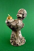 wunderschöner Kerzenleuchter Engel Keramik 15 cm Kerzenhalter Weihnachten