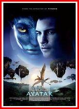 Avatar Classic Movie Poster Art Print A0 A1 A2 A3 A4 Maxi
