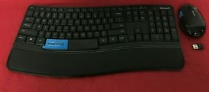 Microsoft Sculpt Comfort Wireless Keyboard USED