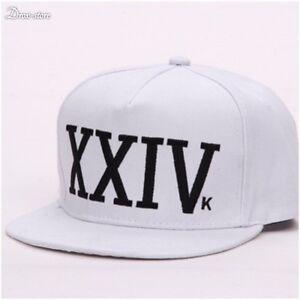 New Bruno Mars 24k Magic Baseball Cap Black and Red Hat Hip Hop XXIV Funk