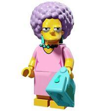 Lego Patty Bouvier - Simpsons -Series 2 Mini-figures -71009 -RETIRED LEGO