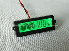 2016 Battery Capacity Tester Indicator for 12V 24v 36v 48v CAR Lead-acid lithium