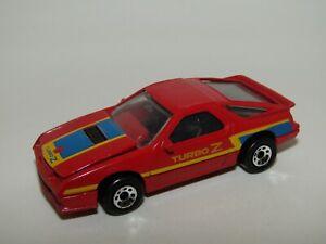 Matchbox Superfast No 28 Dodge Daytona Turbo Z 8 Dot Wheels Excellent UB