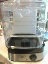 Yes Chef 3 Tier Instant Steamer NEW In Original Box