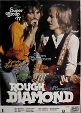ROUGH DIAMOND - 1977 - Tourplakat - In Concert - Tourposter