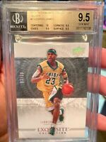 ~BGS 9.5 WITH 10 TRUE GEM EXQUISITE COLLECTION 2013 SILVER /10 LEBRON JAMES