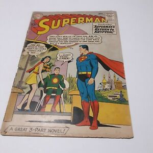 SUPERMAN #141 NOVEMBER 1960 GD
