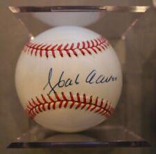 Hank Aaron Autographed Baseball Signed PSA/DNA Guarantee HOF