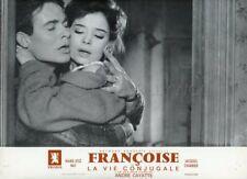 MARIE -JOSE NAT JACQUES CHARRIER LA VIE CONJUGALE 1964 LOBBY CARD ORIGINAL #15