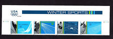3552-55 Winter Sports (P# S111111 STRIP W/HEADER CORRECT ORDER) from 2002 MNH